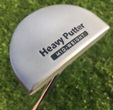 Boccieri Golf Heavy Putter H1 Mid-Weight Mallet Putter RH Steel 42 inch