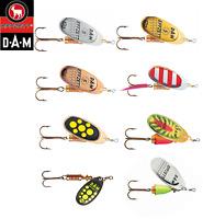 DAM Effzett Standard Spinner Fishing Lure All sizes 3 - 12 g  Various Colours