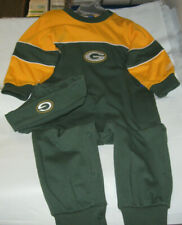 Reebok Green Bay Packers Infant 1PC with Hat 24 months NWT