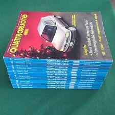 Lotto 12 Riviste/Magazine QUATTRORUOTE ANNATA 1992 COMPLETA !!!