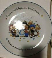 """Holly Hobbie Commemorative Edition Mothers Day 1975 Porcelain Plate Vintage 10"""""""