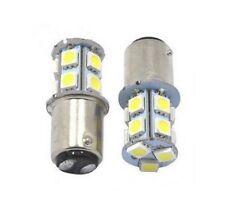 Ampoules LED BAY15D P21/5W 13 SMD 6000K Blanc Xenon Veilleuse Feux arrière 12V