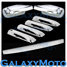05-10 JEEP GRAND CHEROKEE Chrome Mirror+4 Door Handle+Tailgate Liftgate Cover