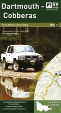 Hema Maps Dartmouth - Cobberas 4wd Map Camping Spatial Vision 9780980834550