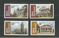 NEW ZEALAND 1982 ARCHITECTURE 3RD SERIES SG,1262-1265 U/MM NH LOT 2471A