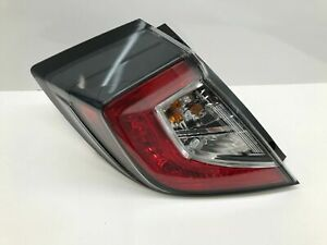 Honda Civic OEM Left Tail Light 2017 2018 2019 2020