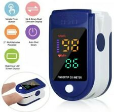Oxymètre de doigt professionnel OLED, oxymètre d'oxygène dans le sang, PR SpO2