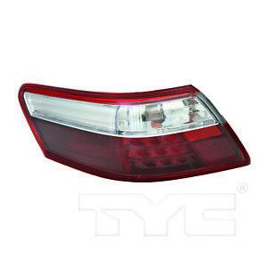 Outer Quarter Tail Light Rear Lamp Left Driver for 07-09 Toyota Camry Hybrid