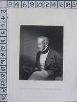 C1840 Antiguo Estampado ~ Viscount Palmerston
