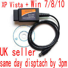 Vauxhall Opel OBD2 CAN BUS Fault code Diagnostic Reader Scanner PC USB