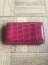 Genuine Italian Leather Pink Wallet