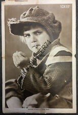 """1921 Jackie Coogan """"The Kid"""" Picture Show Art Supplement Poster Not a Reprint"""
