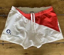 England Rugby Match Worn Shorts Ben Kay Size XXL Nike