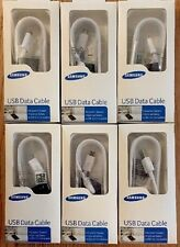 6X Original OEM Micro USB Samsung Galaxy Fast Charging Charger Cable Cord S4 6 7