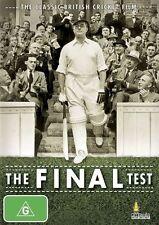 The Final Test ~ Jack Warner ~ Classic British Cricket Movie ~ Region 4 ~ DVD