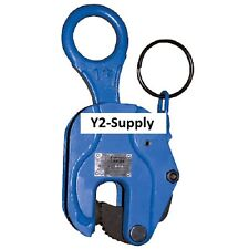 New listing New! Vestil Locking Vertical Plate Clamp Lifting Attachment 2000 Lb. Capacity!