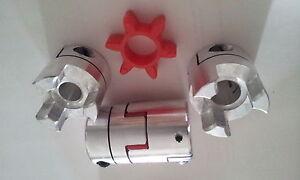 Wellenkupplung Flexkupplung 40x65 20mm Bohrung ETBX40x65-20mm, 1/2 Kupplung