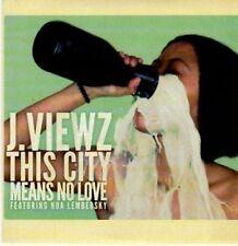(BC648) J Viewz, This City Means No Love - 2010 DJ CD