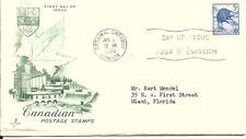Canada FDC Stamp- Art Craft- Ottawa- 1954
