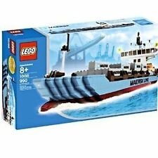 Lego #10155 Maersk Line Container Ship New Sealed HTF