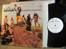 THE FUGS It Crawled Into My Hand WHITE LABEL PROMO LP '68 WLP orig 1A/1A etch NM
