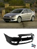 FRONT BUMPER WITH FOG LIGHT HOLES COMPATIBLE WITH MITSUBISHI LANCER 2008-2014