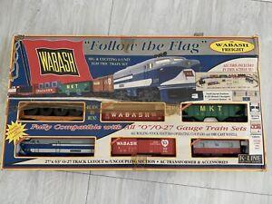 K Line Wabash Freight Train Set 1501 (6 Unit)
