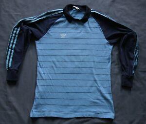 Adidas Goalkeeper Football Shirt Jersey 80s Vintage Template M Torwarttrikot #1