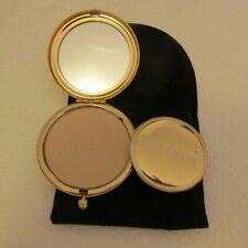 New listing Estee Lauder Compact Pressed Powder June Angel Puff Unused Rhinestone Pouch Box