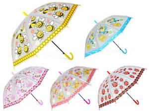 Kinderregenschirm Regenschirm Pirat Biene Einhorn Sturmfest Stockschirm REG-07