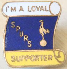 Tottenham Hotspur vintage badge Maker p&g Sports broche épingle en doré 25 mm x 27 mm