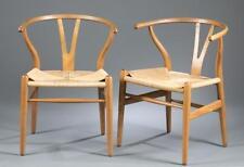 """8 Hans Wegner """"wishbone"""" chairs. c.1960s. Lot 100"""