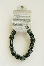 Obsidiana Nevada pulseras de minerales, Obsidian bracelets R