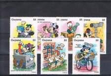 Serie Disney postfris MNH Guyana: Mickey Donald Goofy (dis145)