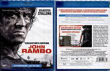 JOHN RAMBO (Sylvester Stallone) - Blu-Ray NUOVO E SIGILLATO FUORI CATALOGO RARO!
