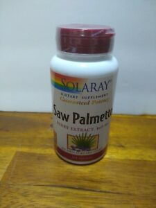 Solaray Saw Palmetto Berry Extract 160 mg 120 Sgels