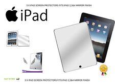 3 x protezioni dello schermo iPad si adatta iPad 2,3 e 4 finitura a specchio