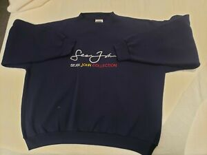 Vintage Navy Sean John Sweatshirt