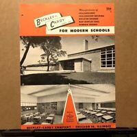Vtg Beckley-Cardy Company ~ Chalkboards - Bulletin Boards - School - Catalog