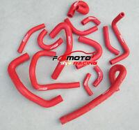 RED Silicone Radiator&Heater Hose For NISSAN SKYLINE R33 R34 GTR RB26DET