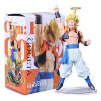Anime Dragon Ball Z PVC Super Saiyan Gogeta Action Figure Collect Toy Bday Gift