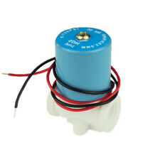 """DC12V 1/4"""" Plastic Inlet Solenoid Valve for RO Reverse Osmosis Pure Systerm."""