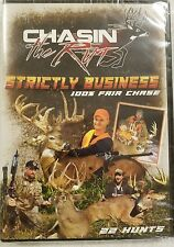 Chasin The Rut Strickly Business Deer Hunting Whitetail DVD Video #SW9313 Sealed