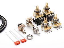 ToneShapers Wiring Kit, Les Paul Standard, Vintage Wiring, Push/Pull Tone Pots