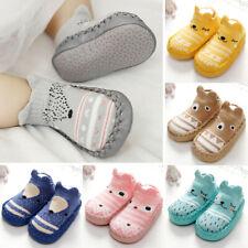 Kinder Lauflernschuhe Babyschuhe Rutschfest Slipper Socken Schuhe Krabbelschuhe