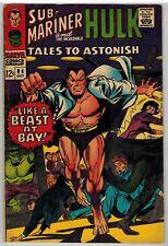 TALES TO ASTONISH #84 1966 SUB-MARINER HULK MARVEL SILVER AGE NICE!