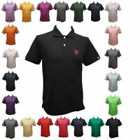 New Urban Fox Classic Polo Mens Polo Shirt Short Sleeve~Muscle Fit~SMALL FITTING