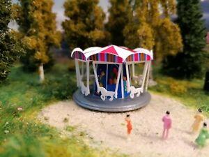 Bausatz Kinderkarussell | Kirmes | Fahrgeschäft Rummel Spur Z 1:220
