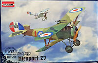 Nieuport 27 - Roden Kit 1:72 Ro 061 - Serie World War I