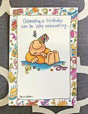 New Ziggy 1995 Vintage Hallmark Cards Birthday New In Package Lot 4 Tom Wilson
